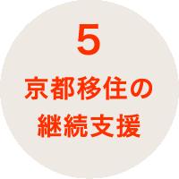 京都移住の継続支援